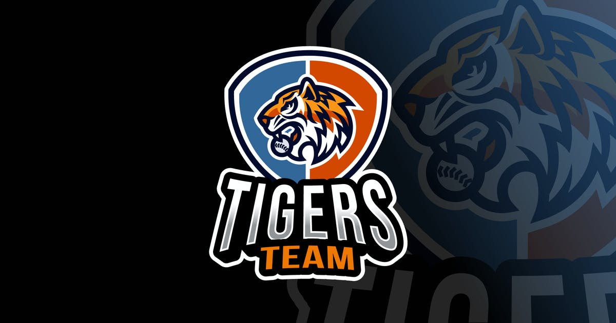Download Tigers Baseball Logo Template by IanMikraz