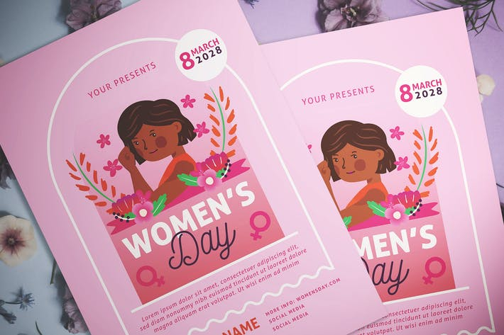 Thumbnail for Womens Day Flyer