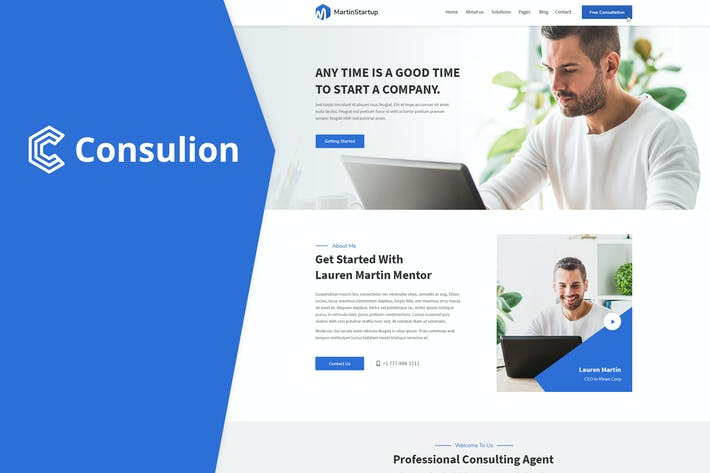 Thumbnail for Consulion - Professional and Consulting Business