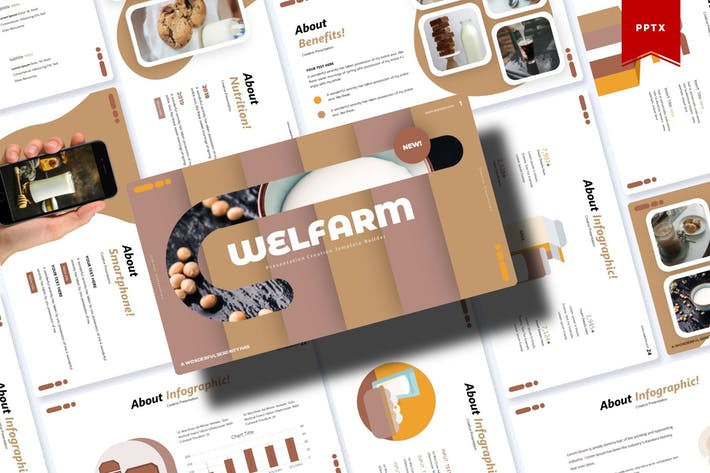 Thumbnail for Welfarm | Powerpoint Template