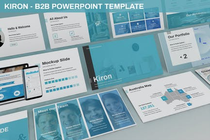 Kiron - B2B Powerpoint Template
