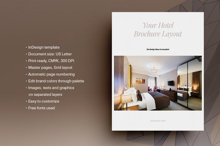 Thumbnail for Hotel Brochure Template