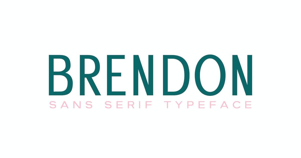 Download Brendon Sans Serif Typeface by creativetacos