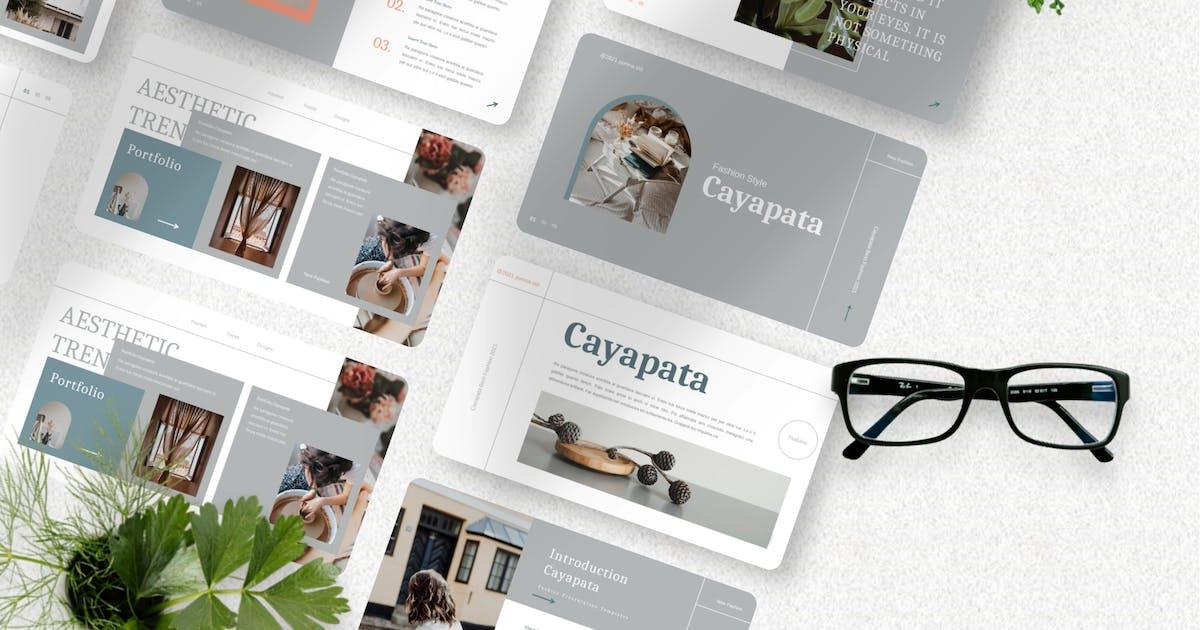 Download Cayapata - Fashion Keynote Template by Yumnacreative