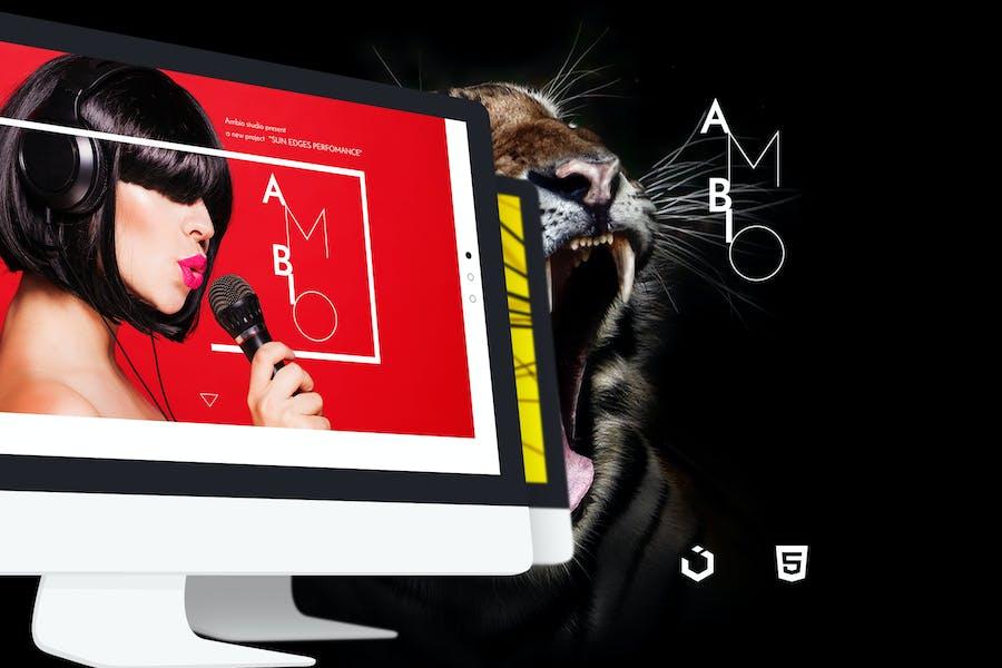 Ambio — Unique Personal Blog   Magazine Responsive