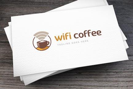 Wifi Coffee Logo Template