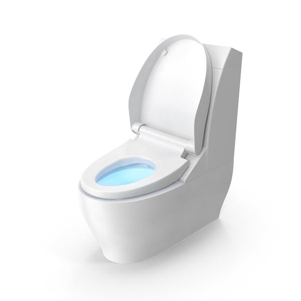 Thumbnail for Modern Toilet Seat Up