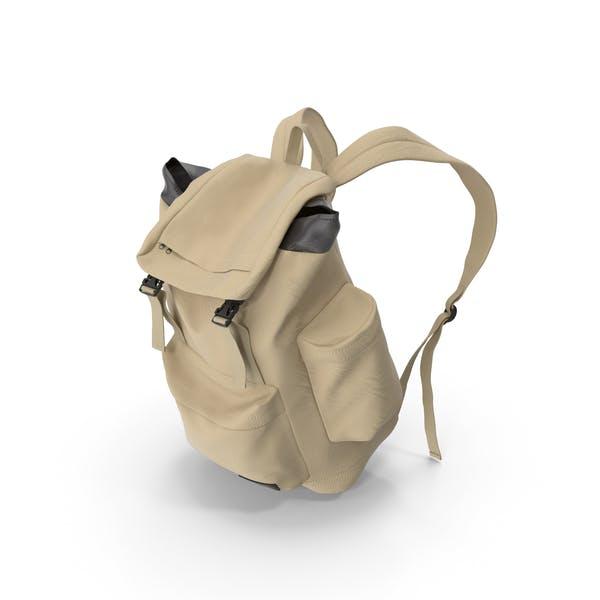 Men's Backpack  Beige