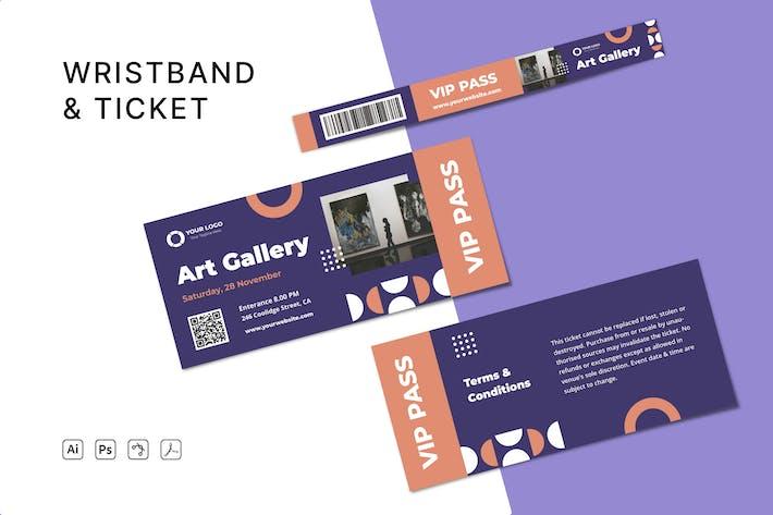 VIP Pass Ticket