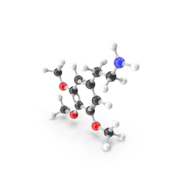 Mescaline Molecular Model
