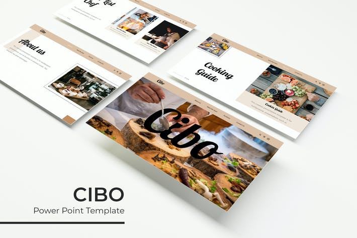 Thumbnail for Cibo - PowerPoint Template