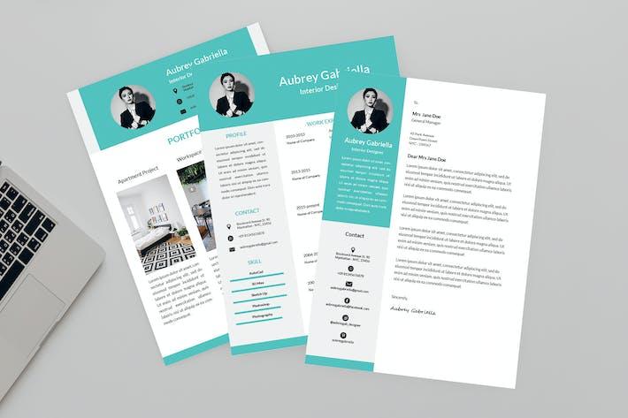 Thumbnail for 02 Designer Resume