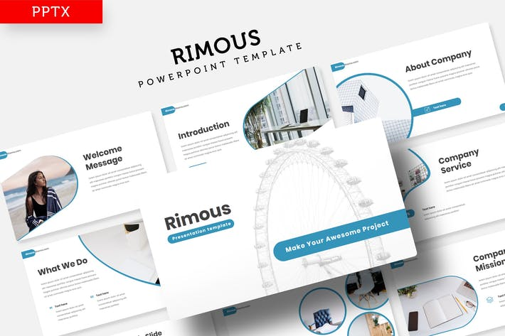 Cover Image For Rimous - Power Point Template