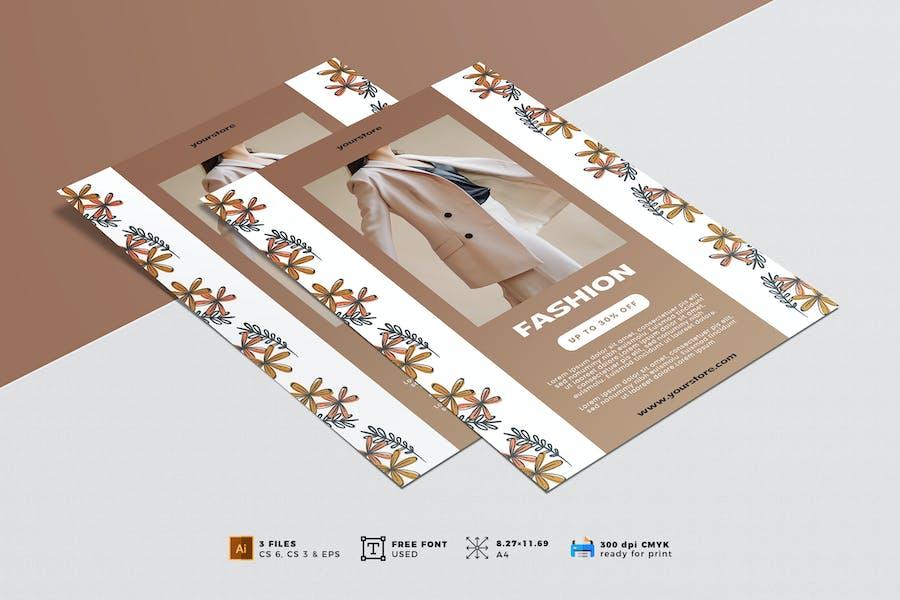 Minimalist Fashion Flyer Vol. 03
