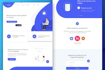 Landing Page Business