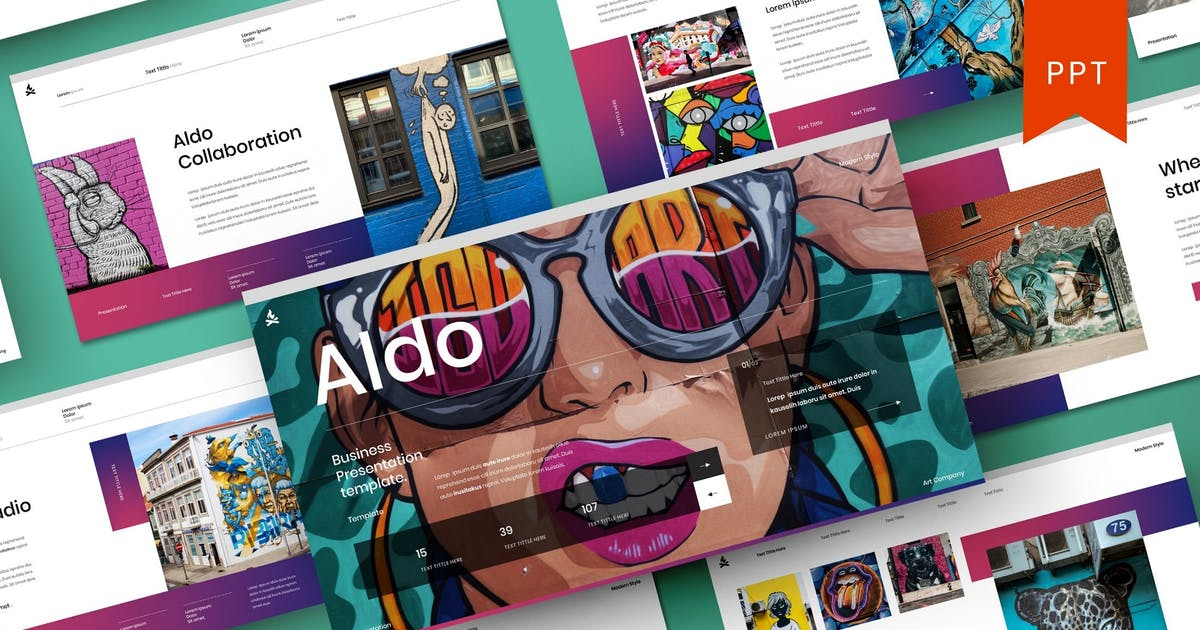 Download Aldo – Business PowerPoint Template by DensCreativeStudio