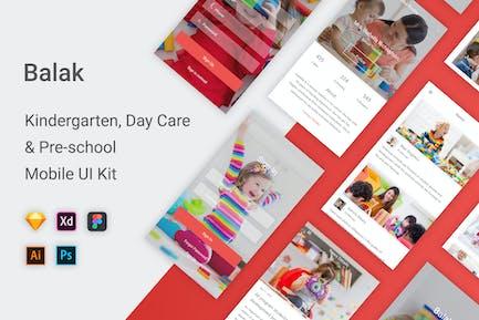 Balak - Kindergarten & Pre-school UI Kit