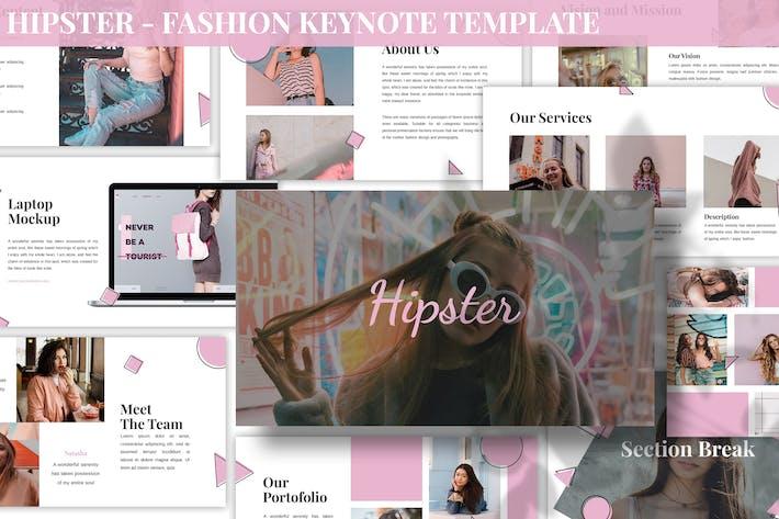 Hipster - Fashion Keynote Template
