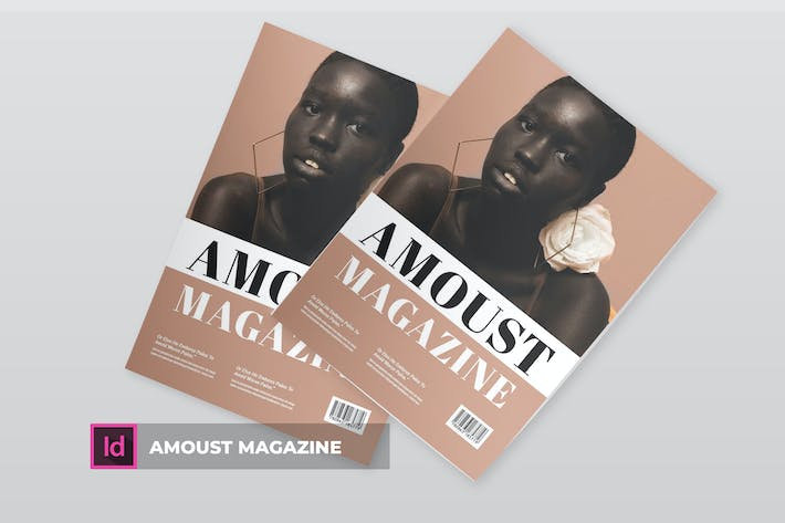 Thumbnail for Amoust | Magazine Template