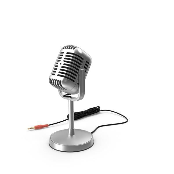Классический студийный микрофон