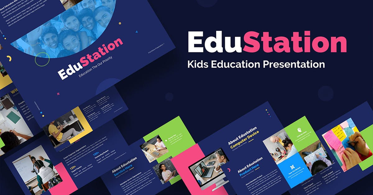 Download Edustation Kids Education - Keynote by Rometheme