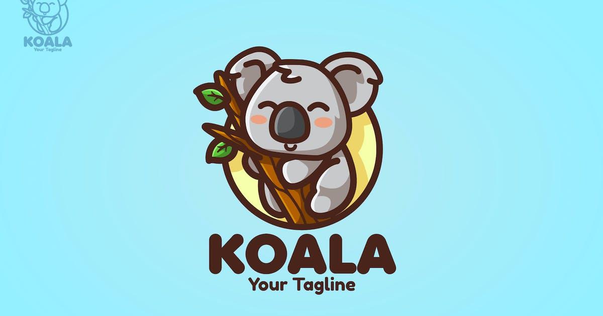 Download Koala - Mascot Logo by aqrstudio