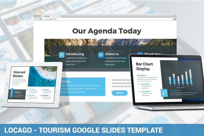 Thumbnail for Locago - Tourism Google Slides Template