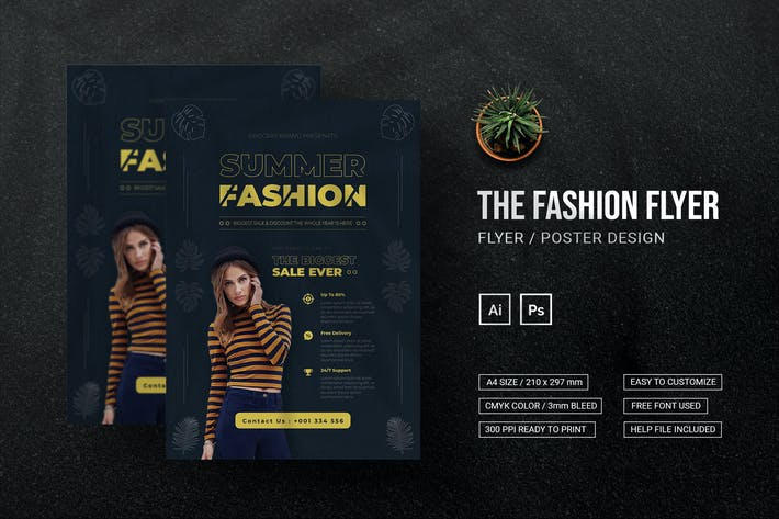 Summer Fashion - Flyer