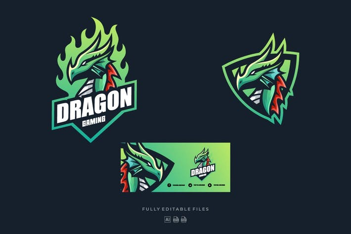 Thumbnail for Dragon Sports and E-sports Logo