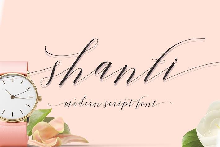 Thumbnail for Shanti Script