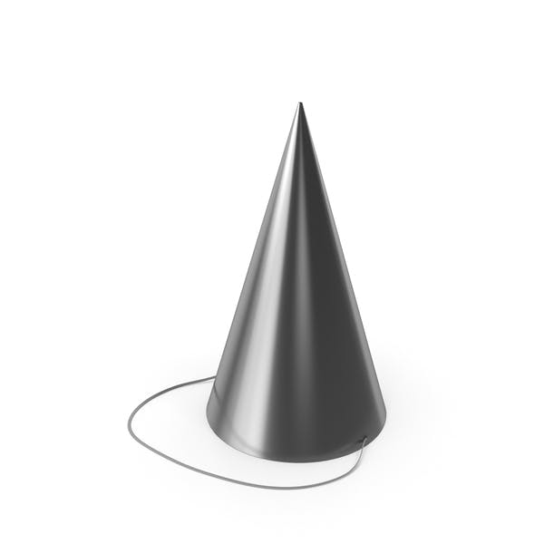 Party Hat Silver