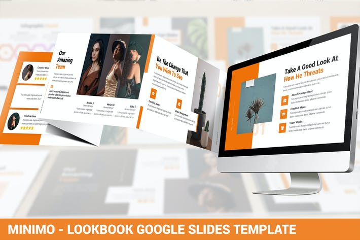 Thumbnail for Minimo - Lookbook Google Slides Template
