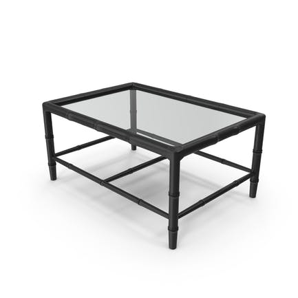 Bamboo Chippendale Coffee Table