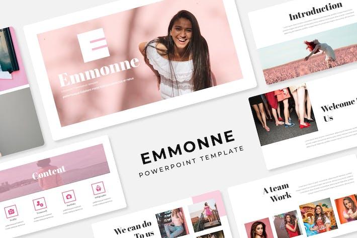 Emmonne - PowerPoint Template