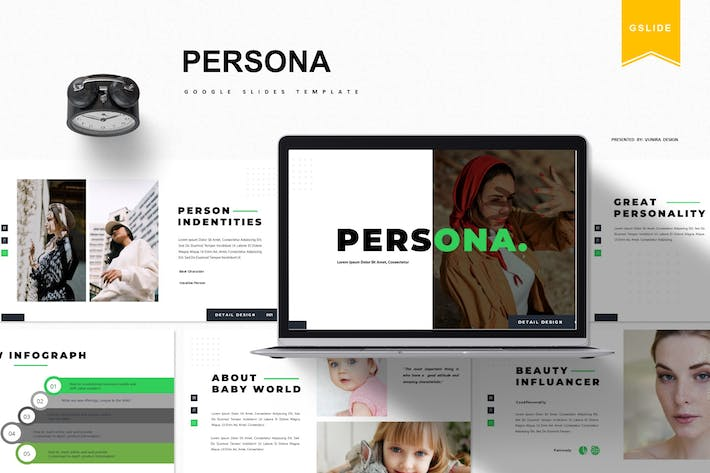 Persona | Google Slides Template