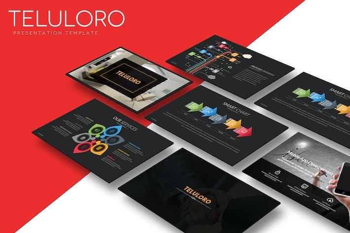 Thumbnail for Teluloro - Powerpoint Template