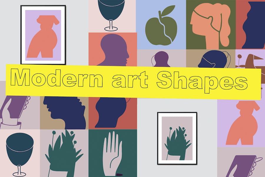 Modern art Shapes