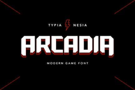 Arcadia - Fuente de juego Scifi