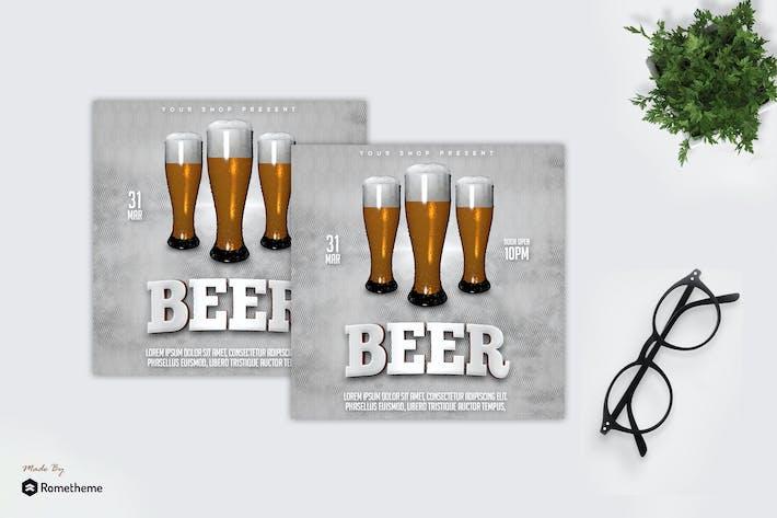 Thumbnail for Beer Promo - Flyer MR