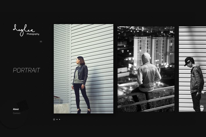 Thumbnail for Photographer / Digital Gallery Template