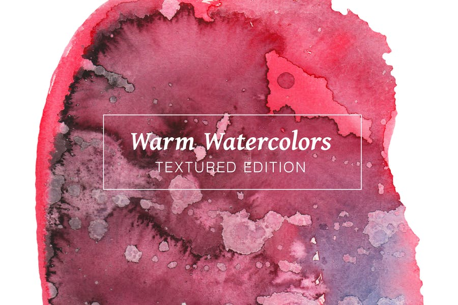 Warm-Textured-Watercolors
