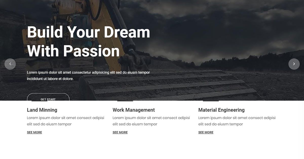 Constrk – Construction Bootstrap 4 Template by codecarnival