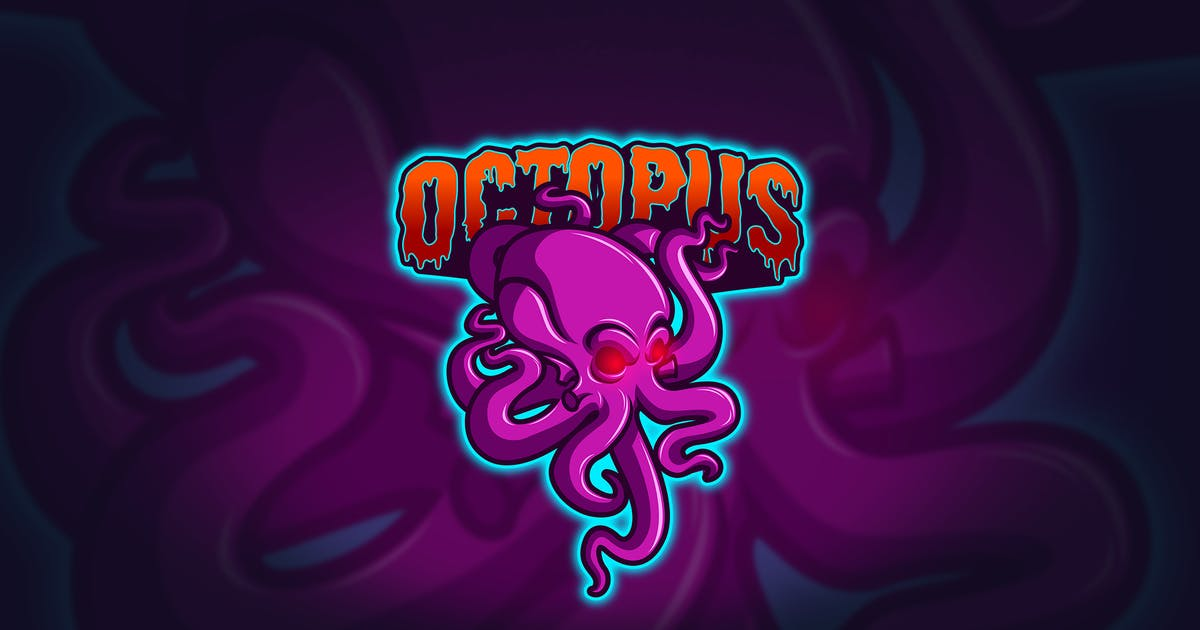 Download Octopus - Mascot & Esport Logo by aqrstudio