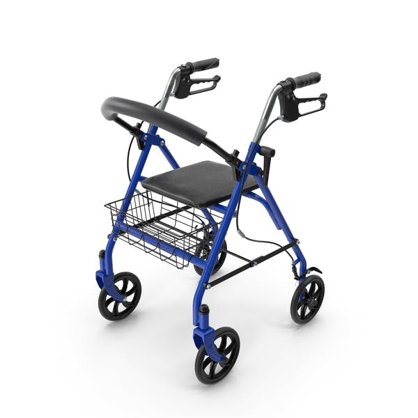 Medical Rolling Walker with Seat