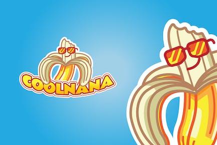 Cool Banana - Mascot Logo