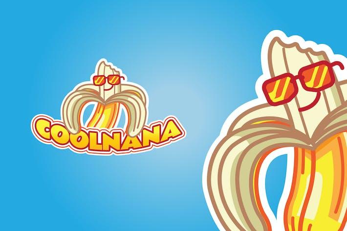 Thumbnail for Cool Banana - Mascot Logo