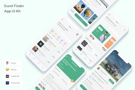 Event Finder App UI Kit