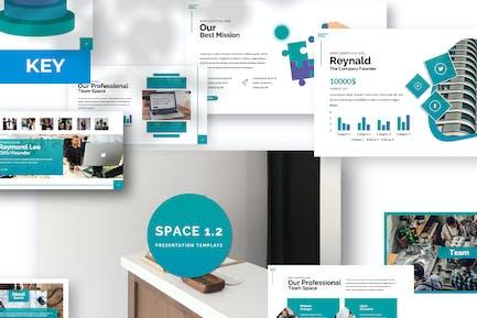 Space 1.2 Keynote Template