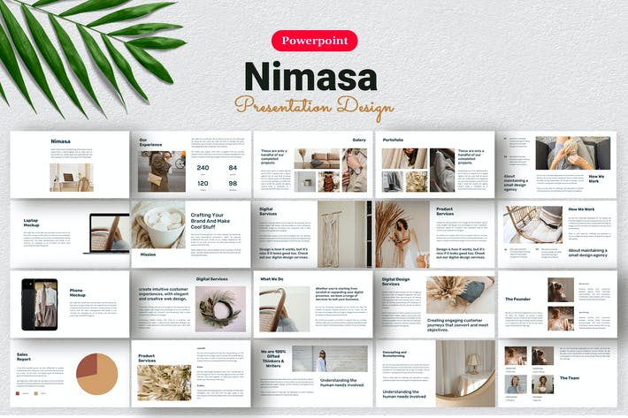 Thumbnail for Nimasa - Product Presentation Template  Powerpoint