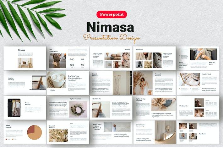Thumbnail for Nimasa - Шаблон презентации продукта Powerpoint